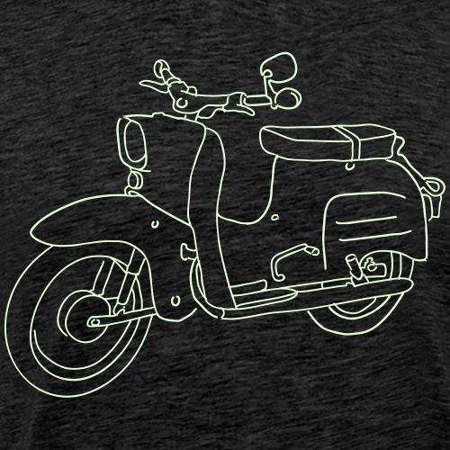 Motorroller, Moped Schwalbe - Männer Premium T-Shirt