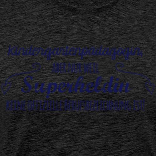 Stoffbeutel: Kindergartenpädagogin - Männer Premium T-Shirt