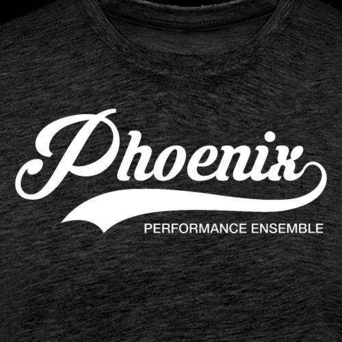 Phoenix Retro White - Männer Premium T-Shirt