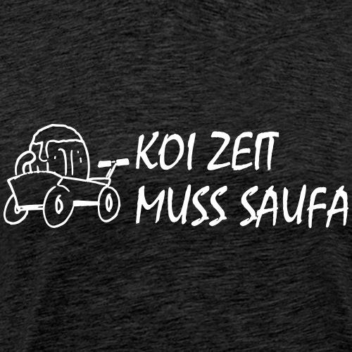 KoiZeit Saufa - Männer Premium T-Shirt