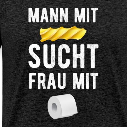 Corona Krise - Hamsterkauf - Klopapier - Nudel - Männer Premium T-Shirt