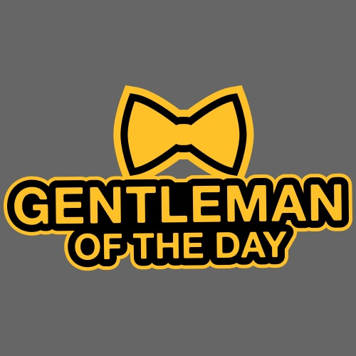 Gentleman of the day - JGA T-Shirt - Bräutigam - Männer Premium T-Shirt