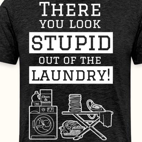 Laundry - weiß - Männer Premium T-Shirt