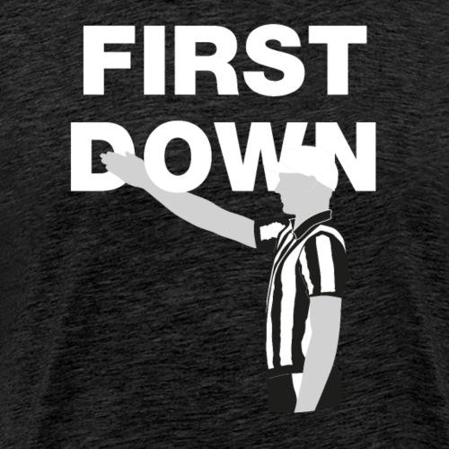 First Down - Männer Premium T-Shirt