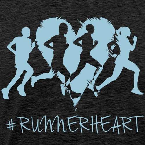 #Runnerheart Group - Männer Premium T-Shirt