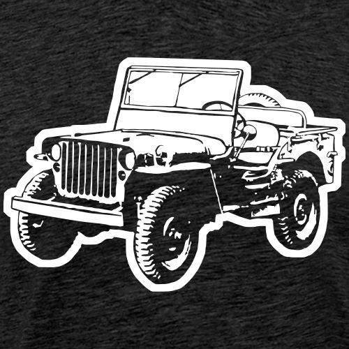 Jeep (Differenzbild) - Männer Premium T-Shirt