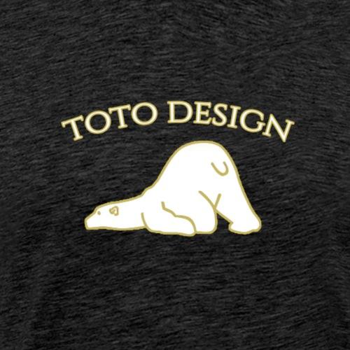 Toto Eisbär - Männer Premium T-Shirt