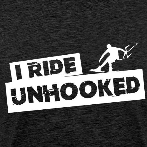 Unhooked Kiteboarding - Männer Premium T-Shirt