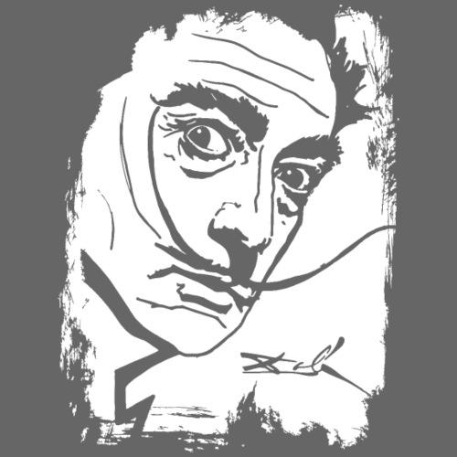 peinture paintor moustache salvador - T-shirt Premium Homme