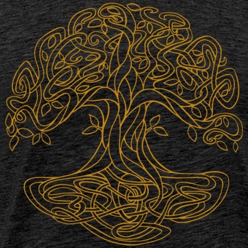 Yggdrasil der keltische Weltenbaum gold