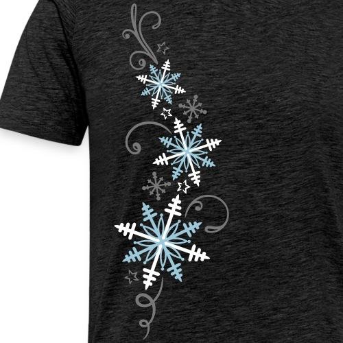 Schneeflocken Design, Winter, Eis und Schnee.