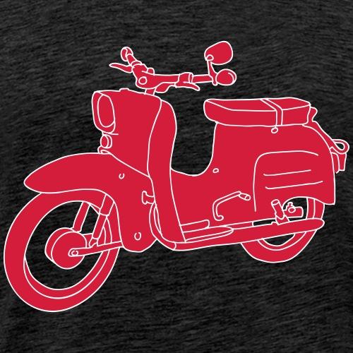 Motorroller Schwalbe 2 - Männer Premium T-Shirt