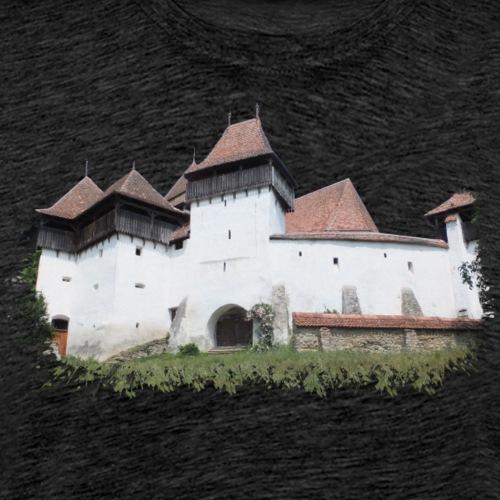 Burg gesprenkelt - Männer Premium T-Shirt