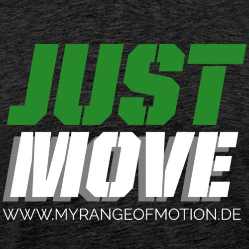 justmove - Männer Premium T-Shirt