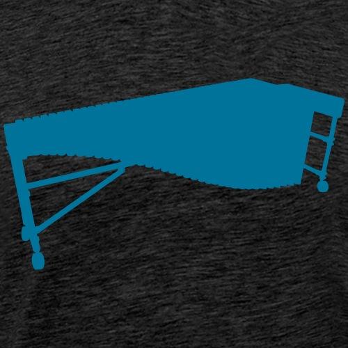 Marimba 2 Kontur - Männer Premium T-Shirt