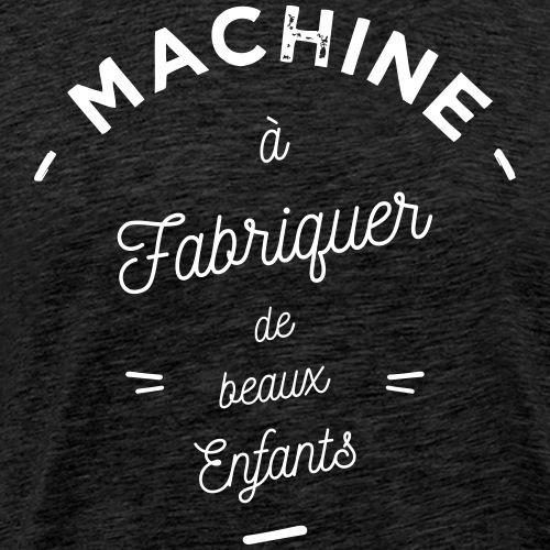 Machine à beaux enfants - T-shirt Premium Homme