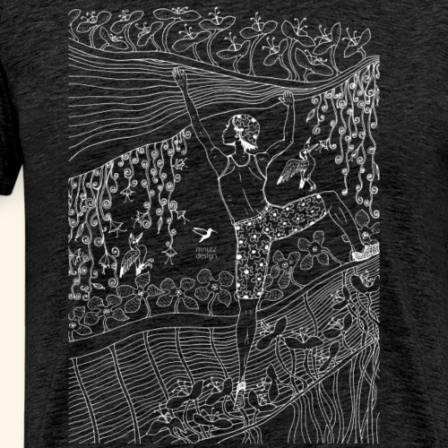 Connected - Kletterin - Männer Premium T-Shirt