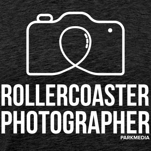 Photographe de montagnes russes - T-shirt Premium Homme