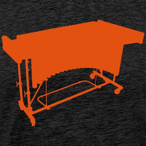 Vibraphon Kontur - Männer Premium T-Shirt
