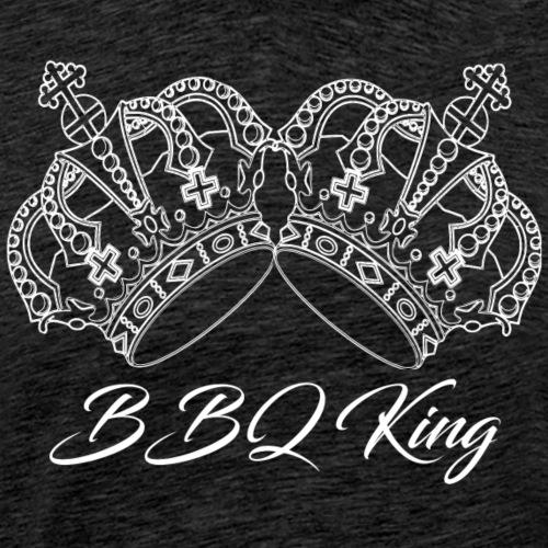 BBQ-King 111 - Männer Premium T-Shirt