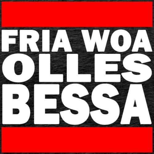 FRIA WOA OLLES BESSA - Männer Premium T-Shirt