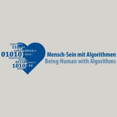 Being Human with Algorithms - Männer Premium T-Shirt