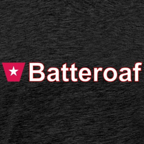 Batteraof w1 tp hori w - Mannen Premium T-shirt