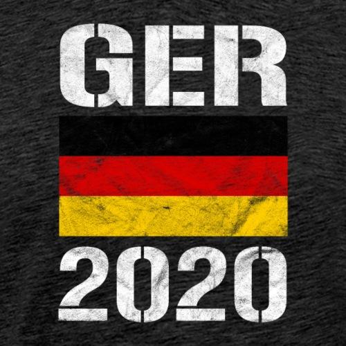 Deutschland 2020 - Männer Premium T-Shirt