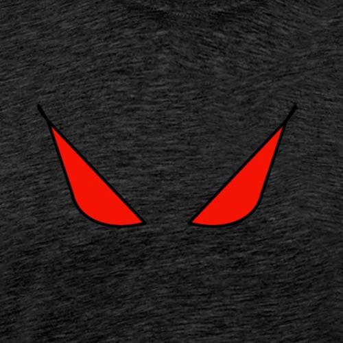 occhi rossi - Maglietta Premium da uomo