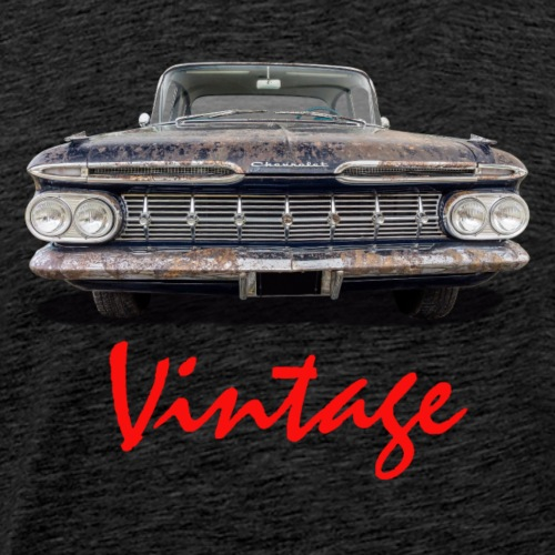 Vintage Car red - Männer Premium T-Shirt