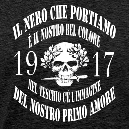 Arditi: gloria e onore ! - Maglietta Premium da uomo