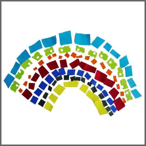 Arcobaleno - Maglietta Premium da uomo