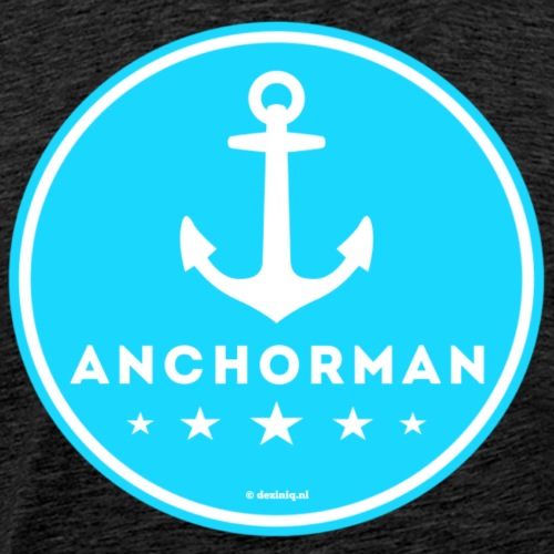 Anchorman - Mannen Premium T-shirt