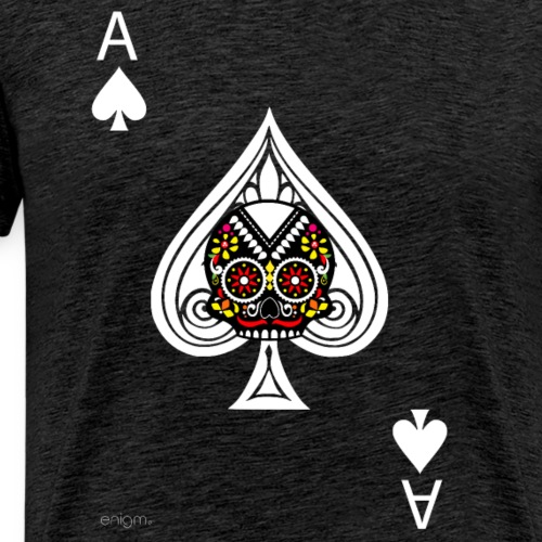 Ace of spades - The skulls players - T-shirt Premium Homme