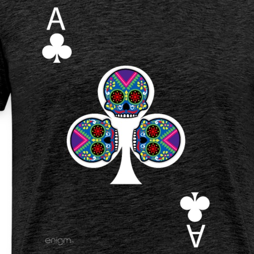 Ace of clubs - The skulls players