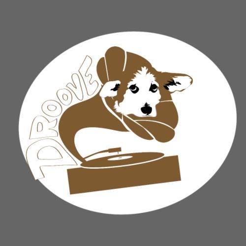 Droove logo - Mannen Premium T-shirt