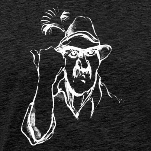 Revier Grantler weiss - Männer Premium T-Shirt