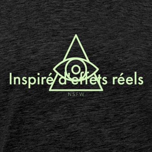 Ironème « Inspiré d'effets réels » - T-shirt Premium Homme