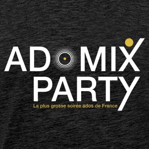 1 LOGO ADOMIXPARTY BLANC TRANS PROTO1 V1 ai - T-shirt Premium Homme