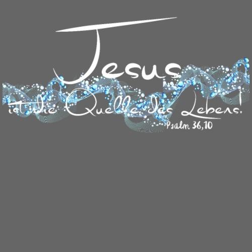 Jesus ist die Quelle des Lebens - Männer Premium T-Shirt