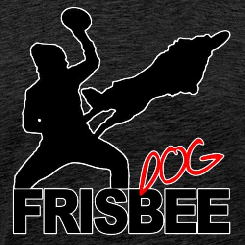 Frisbee Dog - Männer Premium T-Shirt