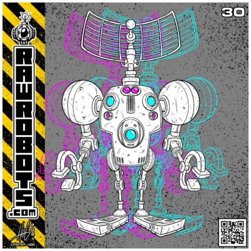 The S.E.E K. Robot! - Herre premium T-shirt