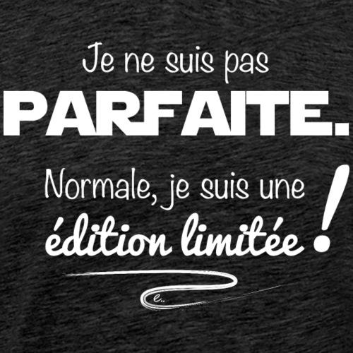 Édition Limitée (blanc) - T-shirt Premium Homme