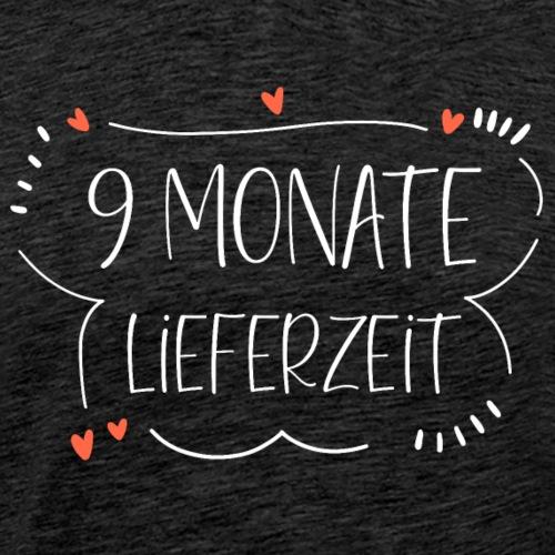 Schwangerschaft Umstandsmode 9 Monate Lieferzeit - Männer Premium T-Shirt
