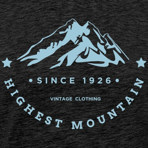 HIGHEST MOUNTAIN - Maglietta Premium da uomo