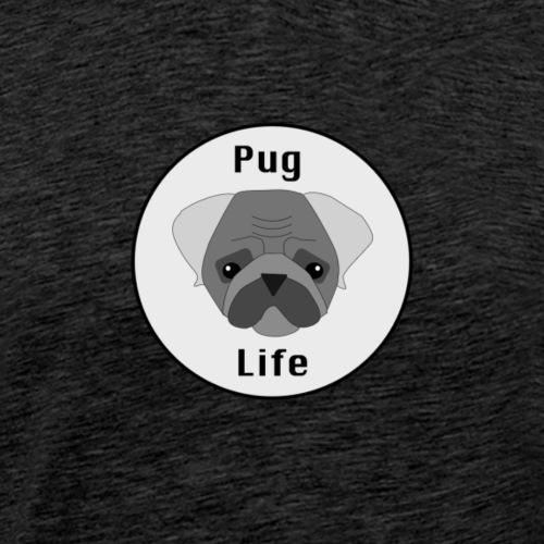 Pug Life - Miesten premium t-paita
