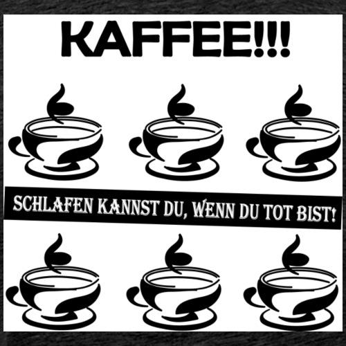 Coffee Kaffee Barista - Männer Premium T-Shirt