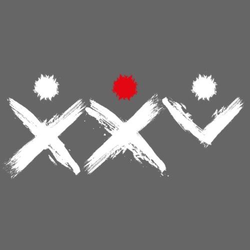 Logo Ich Troje 25 Lat Białe - Koszulka męska Premium