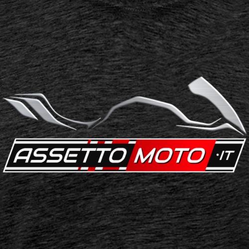AssettoMoto.it - Logo Metal - Maglietta Premium da uomo