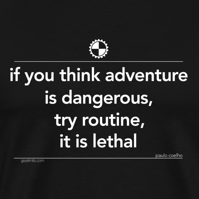 If you think adventure Paulo Coelho white